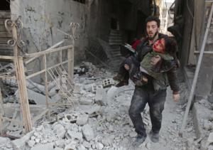 Eastern Ghouta (Abdulmonam Eassa:AFP:Getty Images) Feb 21 2018 posted Feb 27 2018