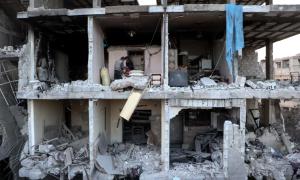 Eastern Ghouta hospital Feb 21 (Anadolu Agency:Getty Images) Feb 28 2018
