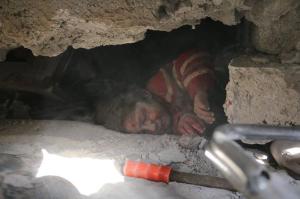 Hamouriyah Syria bombing (White Helmets) Feb 7 2018