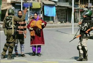 Kashmiri couple with sick child (Soan Kashmir) Mar 7 2018