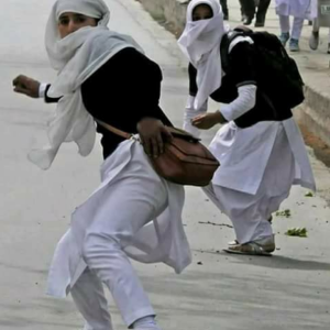 Kashmir women protesters Apr 6 2018