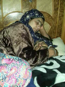 Mother of Aetimad Ahmad killed in Shopian April 1st (Kashmir Dispatch) April 4 2018
