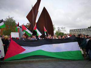 Galway stand with Palestinians ((Treasa Ni Cheannabhain) May 15 2018