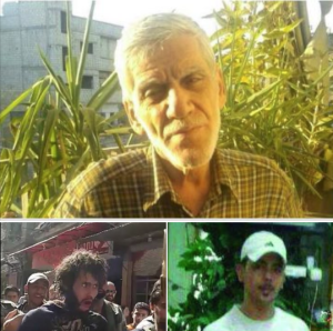 Missing and disappeared from Yarmouk May 27 2018