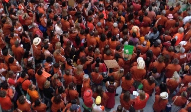 Texas leads assault on abortion rights