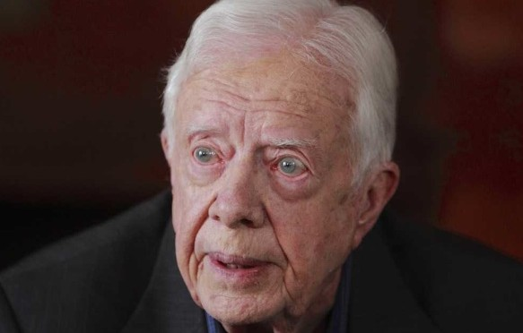 Jimmy Carter opposes Boycott, Divestment, & Sanctions against Israeli apartheid
