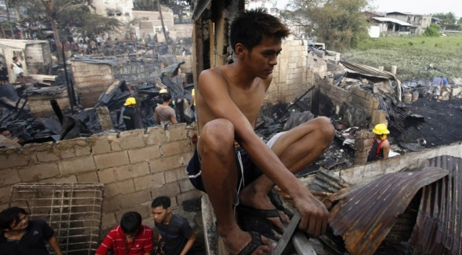 Neoliberalism & slum fires