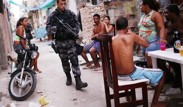 Military occupation of Brazilian favelas under guise of drug war