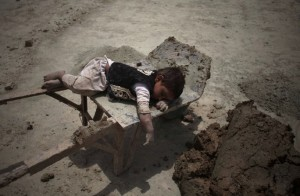 Afghanistan brick worker June 1 2014