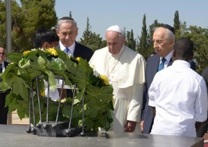 Francis and Herzl May 26 2014