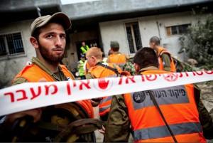 Ashdod, Israel rocket damage July 17 2014