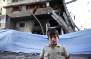 Gazan boy July 16 2014