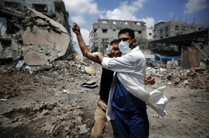 Gazan medic July 23 2014