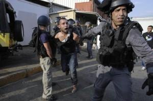 Intifada in West Bank July 22 2014