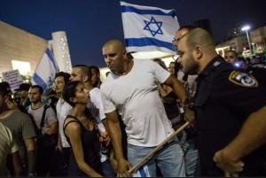 Israeli goon squad July 13 2014