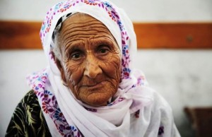 Palestinian woman July 17 2014