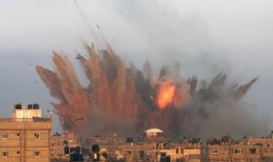 Rafah bombing July 11 2014