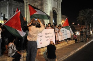 UntitleTel Aviv (Yafo) protest July 12 2014