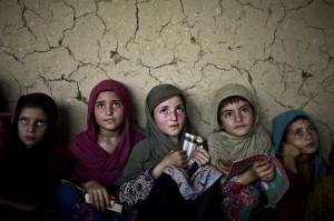 Afghan children August 12 2014