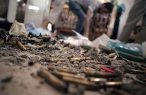 Bullet Casings--Gaza August 7 2014