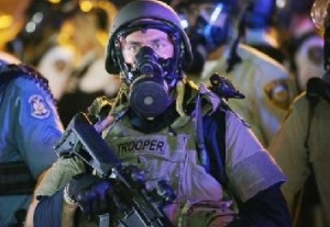 Ferguson trooper August 19 2014