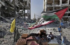 Gaza; al fresco living August 13 2014