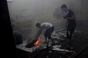 Gaza bombing August 23 2014