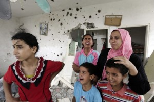 Gaza ceasefire (returning home) August 7 2014