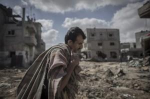 Gaza- homeless August 4 2014