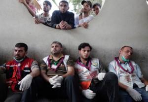 Gaza medics August 1 2014