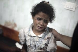 Gaza school bombing July 30 2014