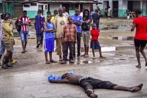 Liberia Ebola epidemic August 27 2014