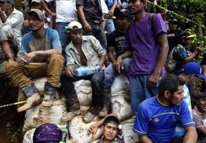 Nicaragua miners August 30 2014