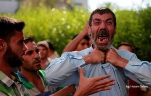 Palestinian father August 10 2014