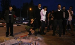 Rocket damage in Sderot (August 11 2014