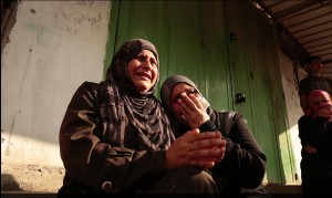 Weeping women of Gaza August 4 2014