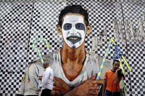 Cairo mural art (Hassan Ammar:AP) Sept 18 2014