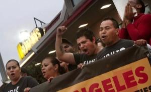 Fast food strike Sept 5 2014