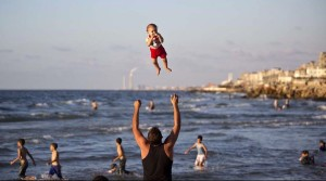 Gaza beach Sept 9 2014