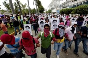 Acapulco protest (Eduardo Verdugo:AP) Oct 17 2014