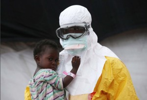 Ebola doctor Oct 10 2014 (John Moore:Getty Images)