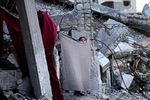 Gaza (Adel Hana:AP) Oct 14 2014
