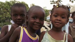 Haitian kids Sept 28 2014 (Maria Elena Romero:Al Jazeera)