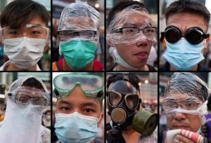 Hong Kong protesters (EPA:Alex Hofford) Oct 1 2014