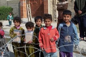 Iraqi children Swpt 28 2014
