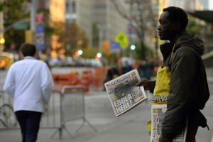 Ebola here! (Timothy A. Clary:AFP:Getty Images) Oct 25 2014