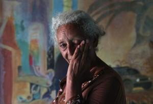 Honduran woman looking for son (John Moore:Getty Images) Nov 21 2014