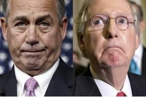 John Boehner & Mitch McConnell (J. Scott Applewhite:AP) Nov 6 2014