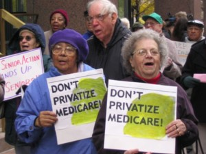 Seniors protesting Nov 20 2014
