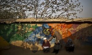 Afghan school in Pakistan (Muhammed Muheisen:AP) Dec 22 2014
